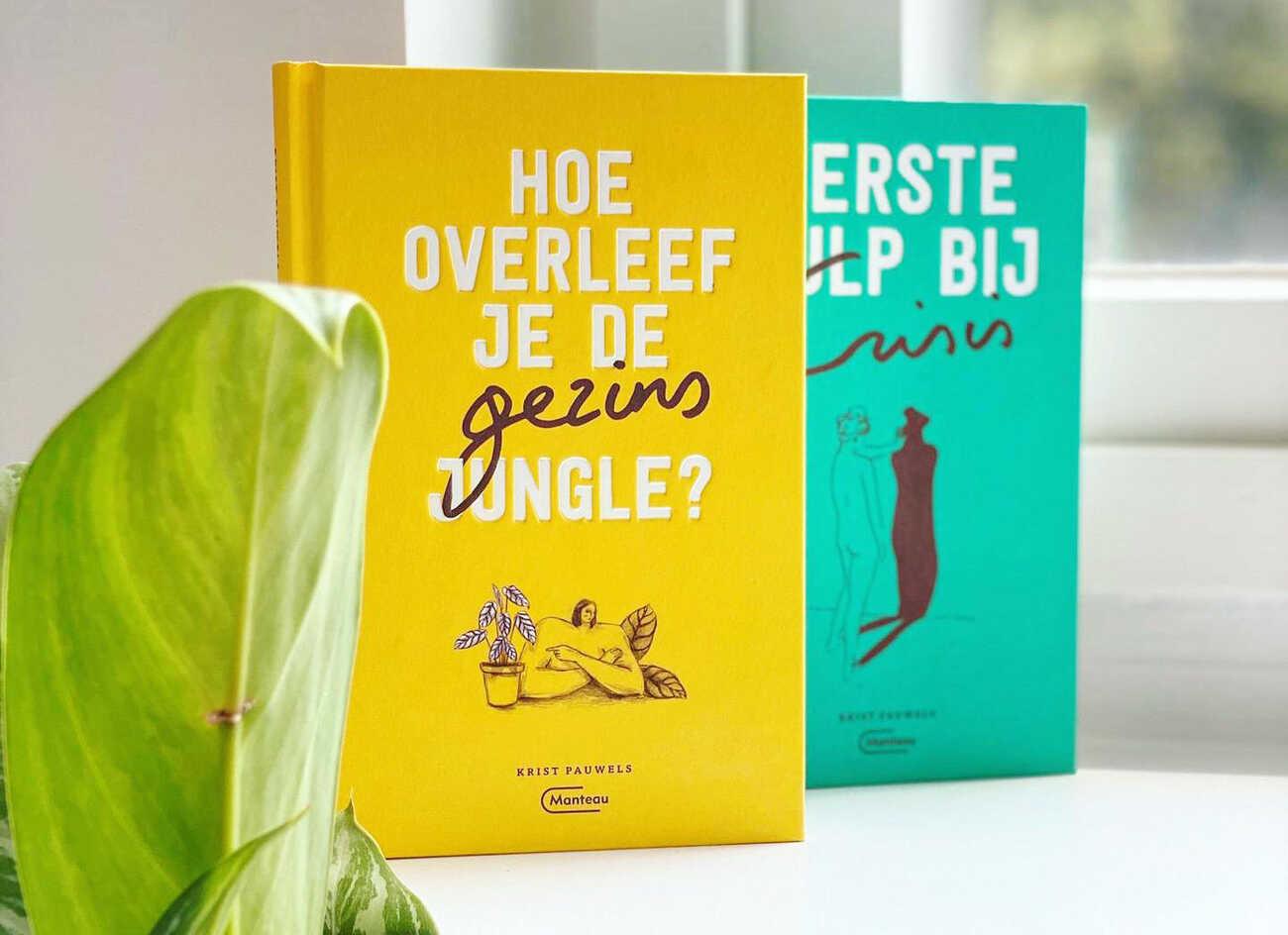 Veel leesplezier met de twee nieuwe boeken van Krist Pauwels